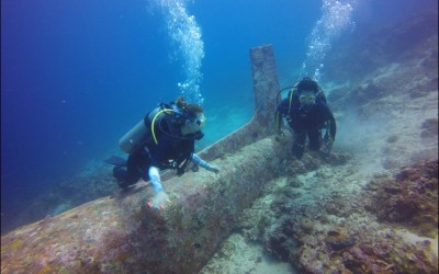 Cebu Tambuli Airplane Wreck Diving on 25 Apr 2015